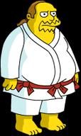 Kung Fu Comic Book Guy Menu