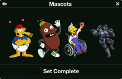 Mascots 2017 Collection