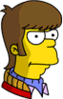 Teenage Homer Annoyed Icon