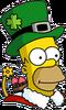 Holiday Homer Icon