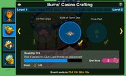 Casino Evento Crafting Menu