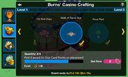 Casino Evento Crafting Menu