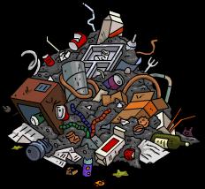 Garbage Pile Menu