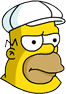 King-Size Homer Annoyed Icon