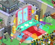 Pop stage Homerpalooza
