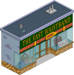 The Vast Waistband Menu