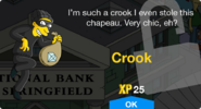 Crook Unlock Screen