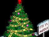 Fir is Murder Christmas Tree