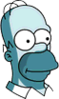 Homer Ghost Icon