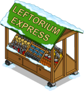 Leftorium Express Snow Menu