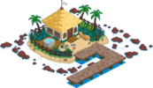 Private Island Level 1 Upgrade