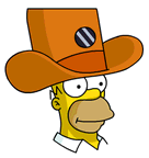 Camera Hat Homer Sidebar