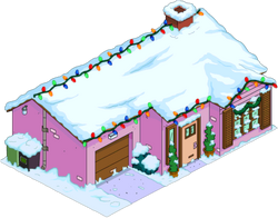 Christmas Pink House Menu