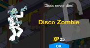 Disco Zombie Unlock Screen