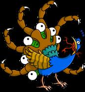 Mutant Peacock