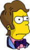Prom Time Homer Annoyed Icon