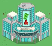 E4 Convention Center animation