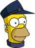 Conductor Homer Icon