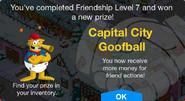 Friendship Level 7 Capital City Goofball Unlock