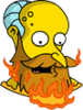 New God Mr. Burns Melting Icon