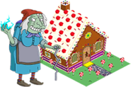 Suzanne the Witch and Gingerbread House