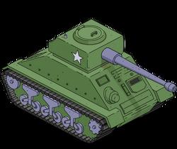 WWII Tank Menu