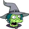 Witch Surprised Icon