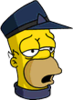 Conductor Homer Exhausted Icon