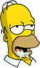 Homer Drool Icon