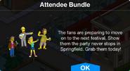 Attendee Bundle notification