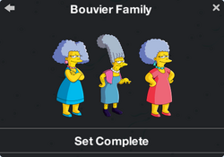 Bouvier Family Character Collection