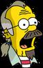 Nedward Flanders Sr. Surprised Icon