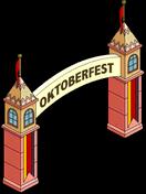 Oktoberfest Gate Menu