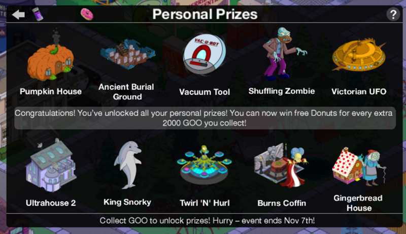 Tapped out whacking day prizes list