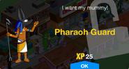 Pharaoh Guard Unlock Screen