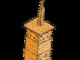 Popsicle Stick Skyscraper