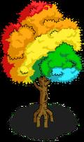 Rainbow Tree Icon