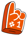 Foam Finger Icon