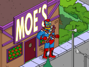 Mexican Duffman Doing Fiesta at Moe's