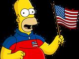Patriotic Homer