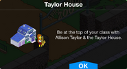 Taylor House notification