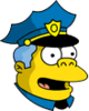 Wiggum Eyeswide Icon