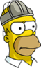 Homer Codpiece Annoyed Icon