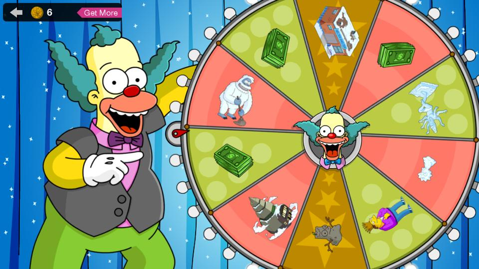 Simpsons spin token prizes for students