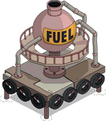 Aqua World Fuel Tank Menu
