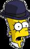Clockwork Bart Surprised Icon