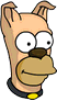 Homer Dog Icon