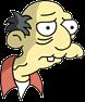 Old Jewish Man Sad Icon