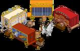 Traveling Circus Menu
