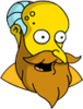 New God Mr. Burns Surprised Icon